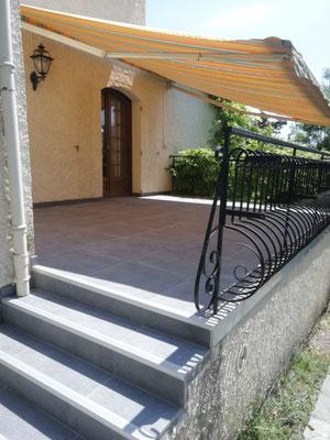 Albertus rénovation Terrasse 60x60 à Neffes 05000
