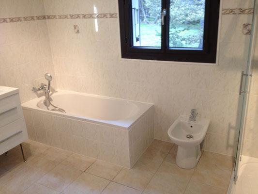 Remplacement d'une baignoire Albertus rénovation