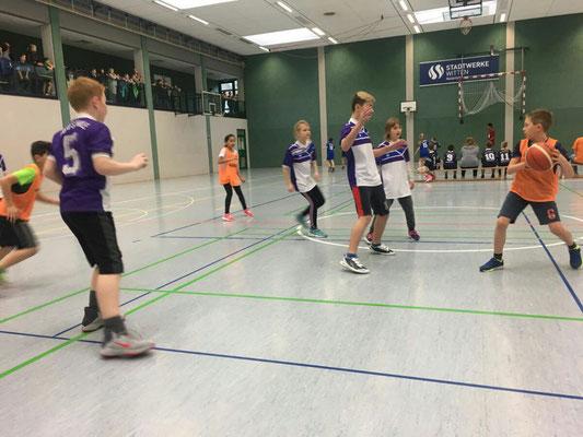 Basketballturnier  in Rüdinghausen