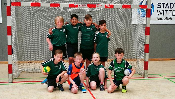 Handballturnier der Wittener Grundschulen in Bommern