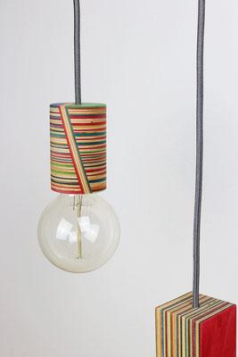 """Skate-Lampe """"50/50"""""""