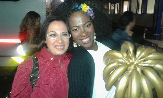 Florinda e Rosana Copacabana vincitrice del Premio Speciale a Ciao Darwin Award 2016. Giudicati anche Miglior Look Best Look  Miglior esibizione Best Performance  Personaggio Televisivo Character of the year a Ciao Darwin7 canale 5 Mediaset