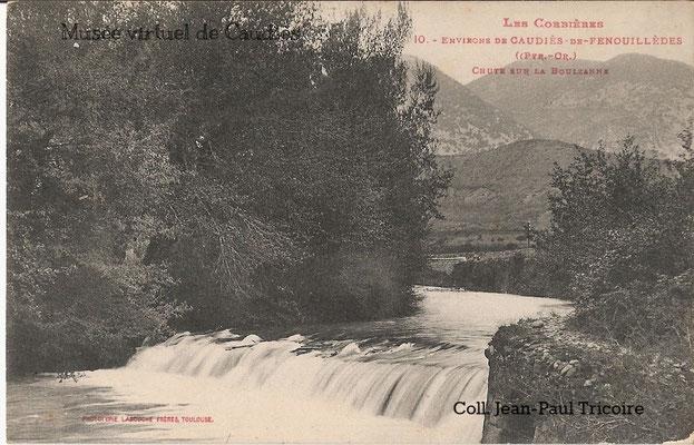 Ancienne retenue du moulin à hauteur du Pont de la Garrigue