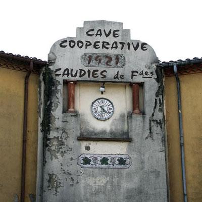 Fronton et Horloge (http://patrimoine-culturel.caves-cooperatives.fr)