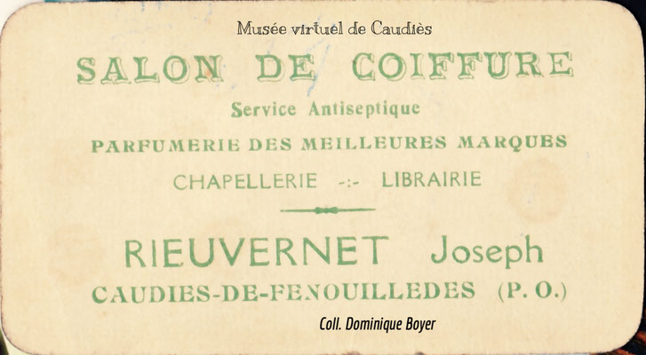 carte visite recto