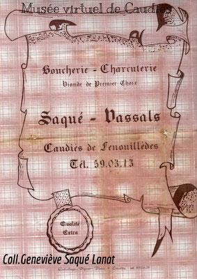 Boucherie Saqué