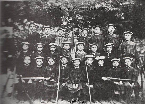 Photo Bataillon scolaire 1895