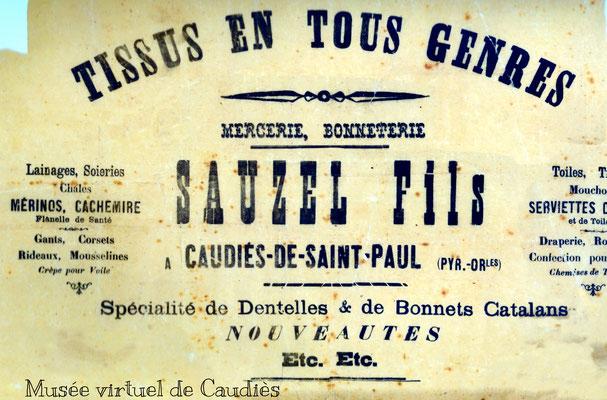 Papier d'emballage (Revue Fenouillèdes n°34)