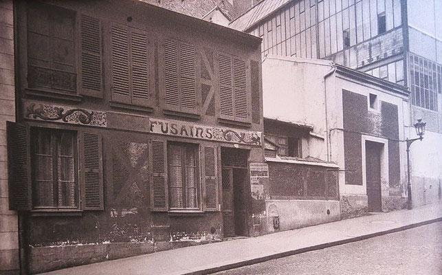 Cité Les Fusains en 1939
