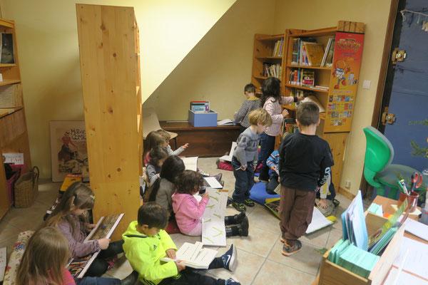 1ère visite de l'école Maternelle