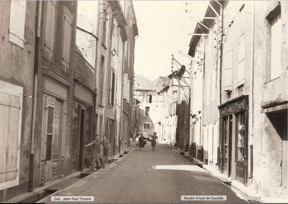 Grande rue en 1960