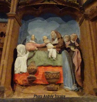 Anne donne naissance à Marie
