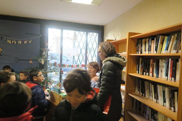 Classe De Guillemette Berthomieu (Photo Joëlle Boyer)