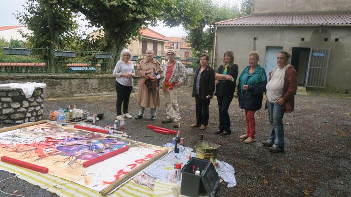 Jean-Luc Février et le bureau d'Arts en Fenouillèdes