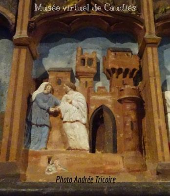 Anne retrouve son mari Joachim devant la Porte Dorée De Jérusalem