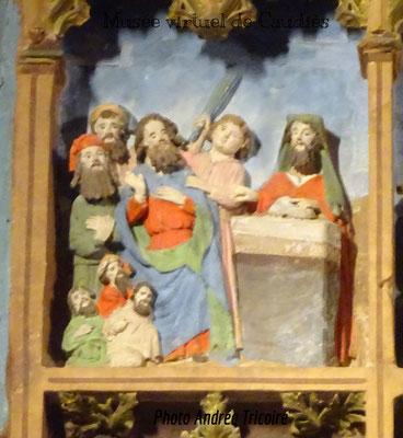 Joachim chassé du Temple pour n'avoir pas eu de descendance