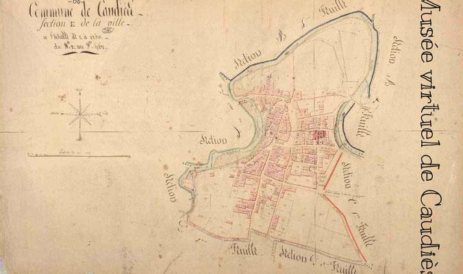 Cadastre Napoléonien Caudies (archives.cg66.fr)