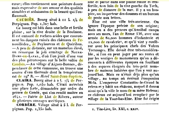 "(2) In ""Guide Pittoresque du voyage en France"""