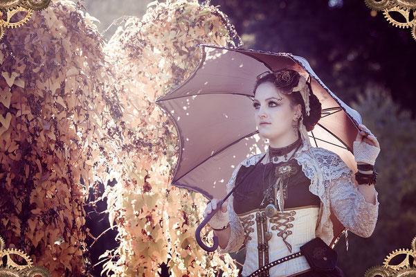 steampunk lady | 201510 • www.visovio.de • steampunkflair, gears, rufflesandsteam, steampunk