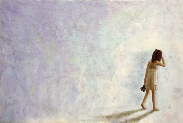 天泣  2009 284×424(mm) 油彩