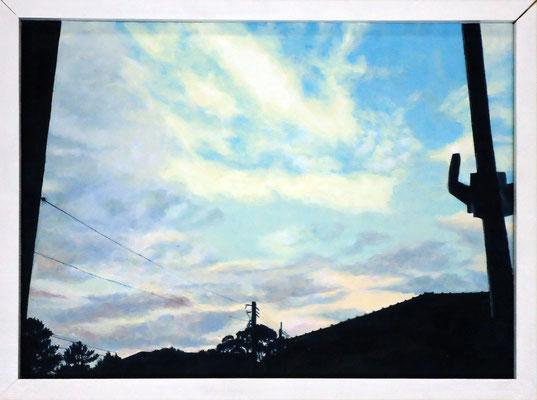 浸る    2011 混合テンペラ