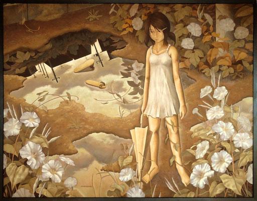 煉獄  2009 910×1167(mm) 油彩