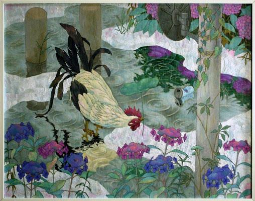 卯の花腐し   2010 910×1167(mm) 油彩