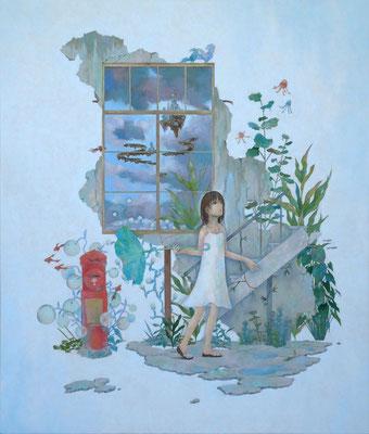 雨上がり   2011 530×455(mm) 油彩