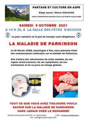 La maladie de Parkinson - Nicole Joan
