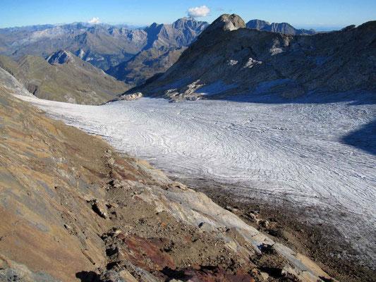 Glacier Ossoue (Vignemale) en 2019