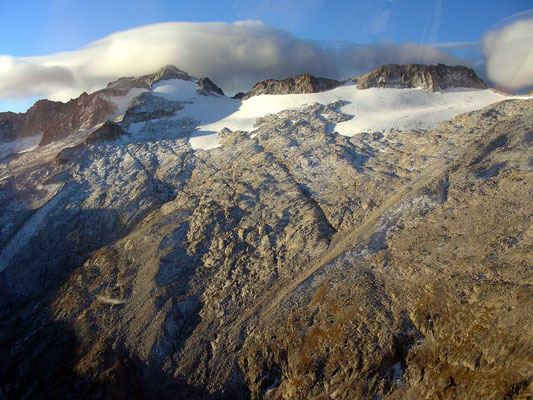 Glacier Aneto en 2007