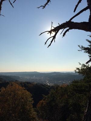 獅子ヶ鼻公園からの眺望