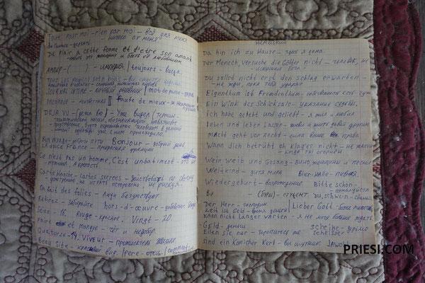 Die Schulbücher von Azat's Vater - Deutsch lernen!