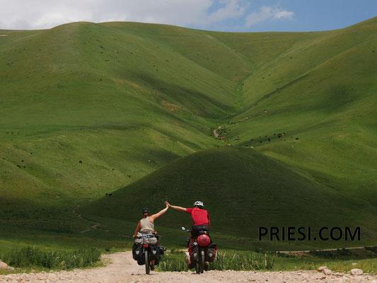 Grüne Hügel ohne Ende