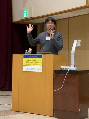 46番目、大分県は県庁で。事業責任者木澤先生の熱のこもった呼びかけ。
