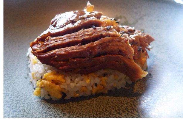 有名韓国シェフによる創作韓国料理、プルコギ