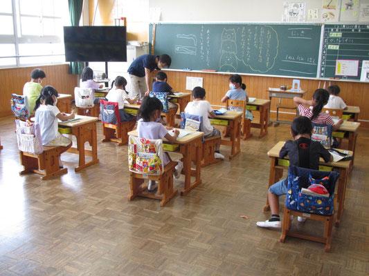 一年生の教室
