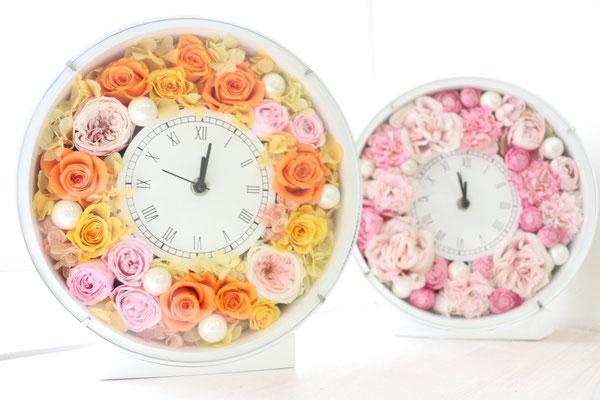 花時計♡たくさんのお花を使って贅沢に。
