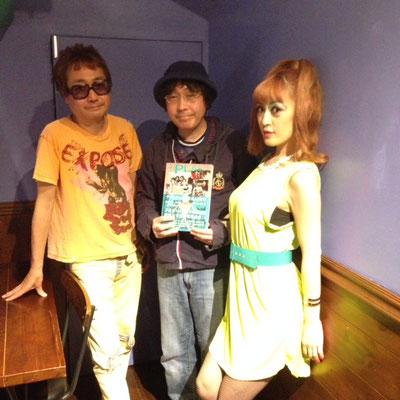 中西俊夫さんと、momoさんと、記念写真をパチリ!