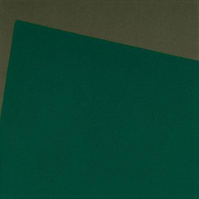 Graugrüner Stoff, Pigment - Chromoxidhydratgrün - 30 x 30 cm, 2005