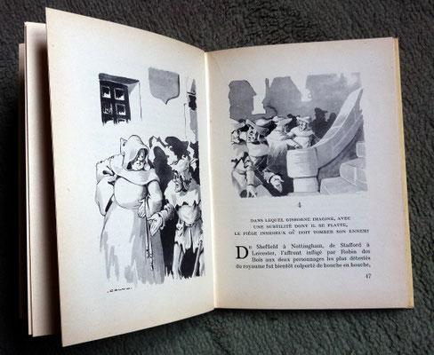 Rouge et or - illustrations (années 50)