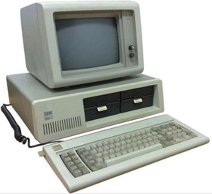 Ordinateur personnel PC IBM 1981