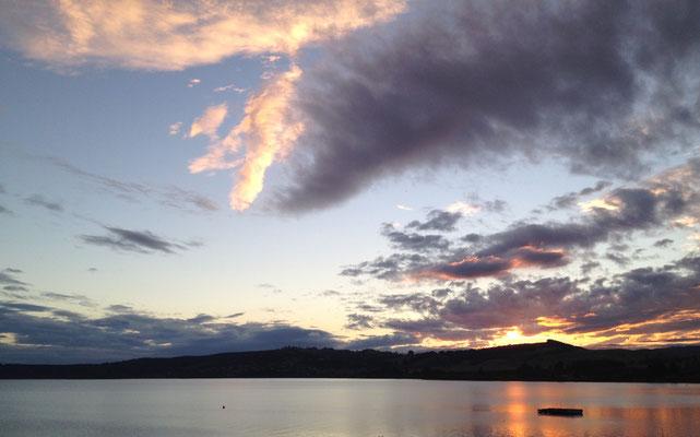 lake-taupo-sonnenuntergang