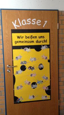 Jetzt heißt es das neue Klassenzimmer zu öffnen.