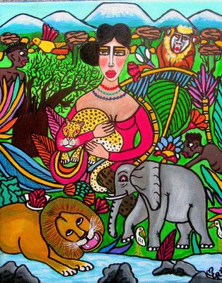 Frieda in Afrika