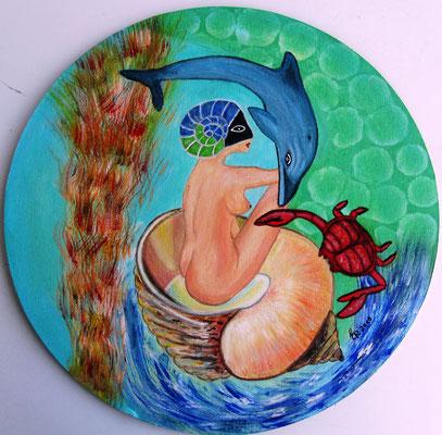 Muschelfrau