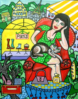 Pariser Shoppingqueen