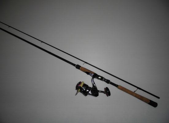 タチウオ釣り シーバスタックルの写真