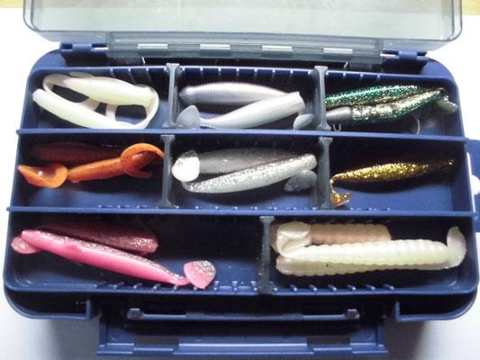 タチウオ釣り ワームの写真
