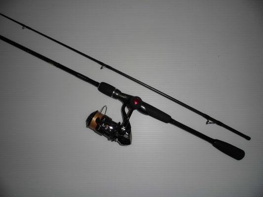 カワハギ釣り エギングタックルの写真
